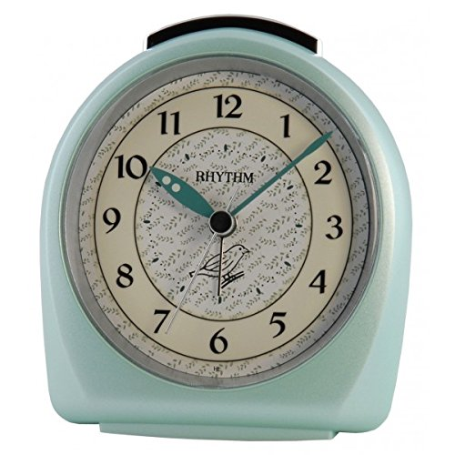rhythm-despertador-con-sonido-de-pajaros-en-aumento-color-verde-4se445wr05