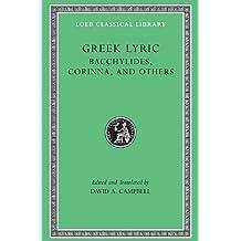 Bacchylides, Corinna, & Others L461 V 4 (Trans. Campbell)(Greek)