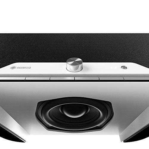 Raumfeld One M All-in-one-WLAN-Lautsprecher Weiß (Streaming, WLAN, verlustfrei, Spotify, kabellos, Multiroom) - 4