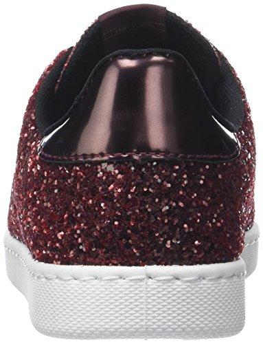 Victoria Deportivo Glitter, Sneaker Unisex – Adulto Rosso (Burdeos)