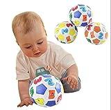1 stücke Kinder Kinder Pädagogisches Spielzeug Baby Lernen Farben Anzahl Gummi Ball Spielzeug