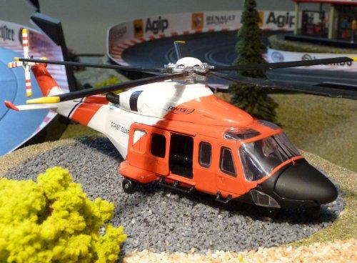Hubschrauber AGUSTA WESTLAND Notarzt Standmodell - Guard Rumpf