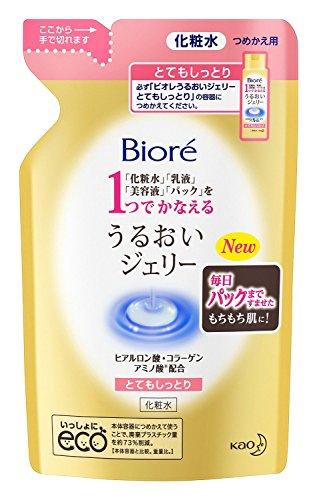 Biore New Skin Lotion Gel 180ml - Moist - RefilliGreen Tea Set)