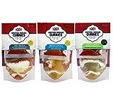 British Indian Curries - 3er Pack, Curry-Mischungen Madras, Tikka & Xacutti Masala nach britisch-indischer Art mit Kurkuma (Curcuma), [3x49g Currymischung] vegan & ideal zum indisch Kochen