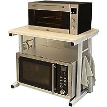 YNN Table Estante de Cocina Estufa de microondas Microondas de múltiples Capas