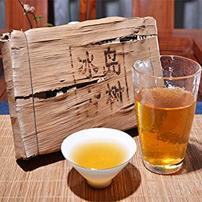 1000g ?2,2LB? Yunnan Bingdao Ancien arbre gâteau cru thé Pu'er thé Sheng Vieux thé Puer thé vert Pu-erh thé Dragon pilier tube de bambou erh thé chinois thé en bonne santé Puerh thé vert bon Sheng cha