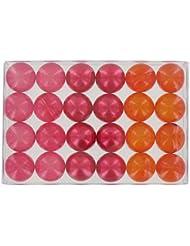 Boîte de 24 perles d'huile de bain fantaisies - Trio fruits rouges