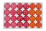Box of 24 fantasy bath pearls - red berries trio