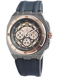 Reloj para hombre analógico Timento, silicona, diámetro de 50 mm, colour gris oscuro - 540045600005