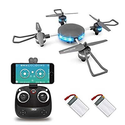 LBLA Wifi FPV Drone, Altitude Hold RC Quadcopter with 720P HD WiFi Real-time Transmission Camera, Compatible with VR Headset from LBLA