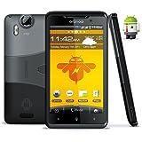"Star X15i 3G DualSim Android Smartphone (4,3"" Multitouch-Display, GPS, UMTS, WLAN, Bluetooth, USB, 2x2000 mAh Akku) inkl. Schutztasche"
