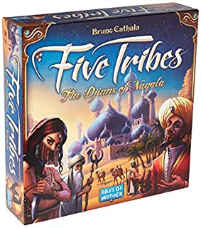 Days of Wonder Five Tribes the Djinns of Naqala Board Game (B00L6JDRE0) | Amazon Products