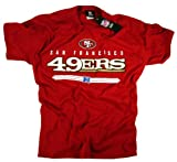 San Francisco 49ers T-shirt Clothing Apparel Team Logo NFL Officially Licensed by The National Football League