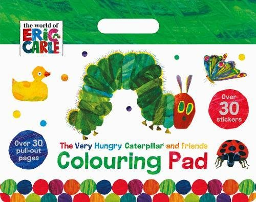 The World of Eric Carle The Very Hungry Caterpillar and Friends Colouring Pad: Over 30 Pull-Out Pages (Floor Colouring Pad) por Parragon Books Ltd