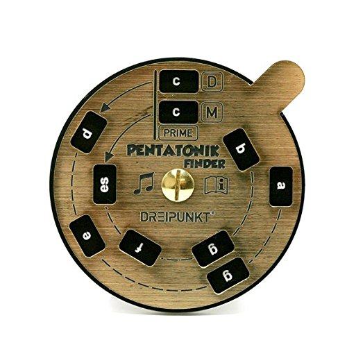 Pentatonik-Finder (gold): Pentatonische Dur- und Moll-Tonfolgen schnell und einfach ermitteln.