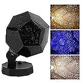60.000 stelle Planetario casa originale, Caronan Star Lamp Night Romantic Planetarium Star Proiettore celeste Lampada per cielo notturno per decorazioni per la casa (Lampadina tricolore)
