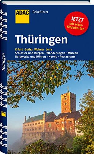 Preisvergleich Produktbild ADAC Reiseführer Thüringen: Erfurt Gotha Weimar Jena
