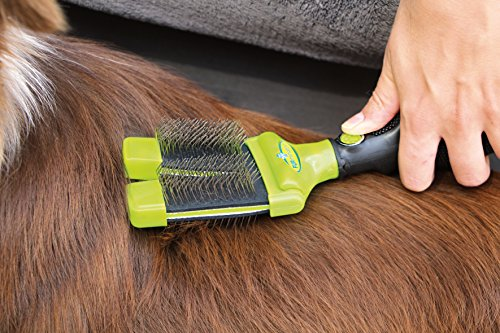 FURminator Slicker Brush for Dogs FURflex, Dual Head for All Hair Small Dogs 4
