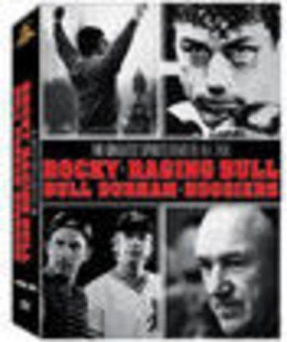 Sports Giftset (Bull Durham / Hoosiers / Raging Bull / Rocky ) by Sylvester Stallone