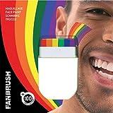 Generique Make-up-Stick in Regenbogenfarben
