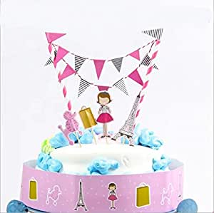 Doyeemei City Girl Cake Toppers Happy Birthday Party Jpg 300x299 Topper