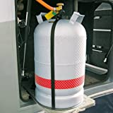 Gasflaschenhalterung aus Kunststoff
