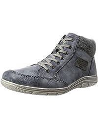 Mens Pas Spécifié Chaussures De Sport Salut-dessus, Mer / Granit / Noir Rieker