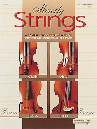 Strictly Strings, Bk 1: Piano Acc (Strictly Strings, Book 1)