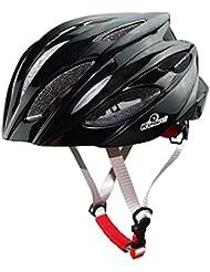 HYF-Aegis PVC + EPS resistencia al impacto ultra-ligero, casco de carretera / mountain bike Certificación CE , Black