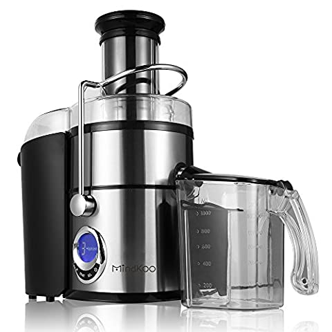 Mindkoo Professional Whole Fruit Power Juicer 800 Watts Dual Speed