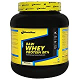 #1: MuscleBlaze 80% Whey Protein Supplement Powder, 1 kg (Unflavoured)