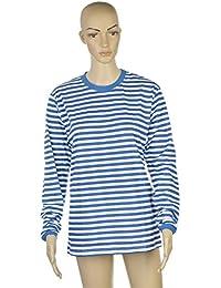 Ramona Lippert Ringelshirt, Shirt gestreift Langarm, rot-weiß oder blau-weiß 8c688f8d36