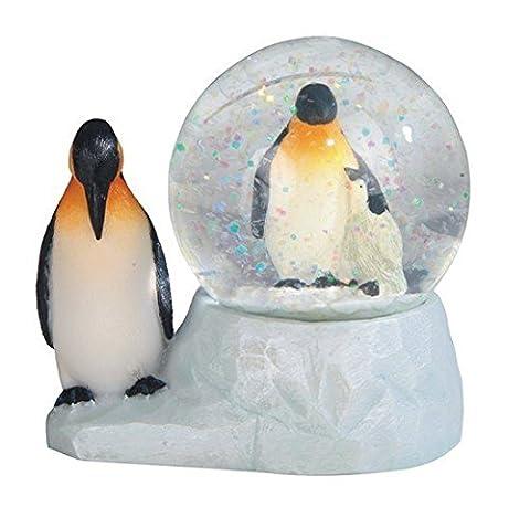 StealStreet SS-G-28058 Marine Life Snow Globe with Penguin Statue Figurine,