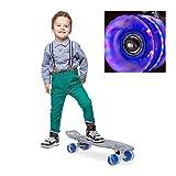 Relaxdays 10022317_45 Skateboard, Azul, Talla Única