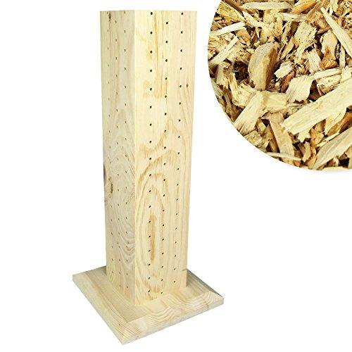 Zirben Duftsäule aus Österreich, Zirbenflocken, Zirbenholz, Hackschnitzel