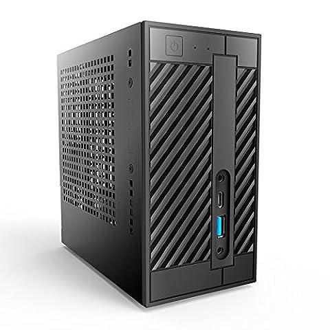 Nextcloud Server Power, Home-Cloud mit Stromspareffekt, Intel Core i5-6400 Prozessor, WLAN, kleines Gehäuse, inkl. PCIe-SSD und 2 x 2 TB HDD, vorkonfiguriert mit dem neuen Nextcloud, sofort einsatzbereit