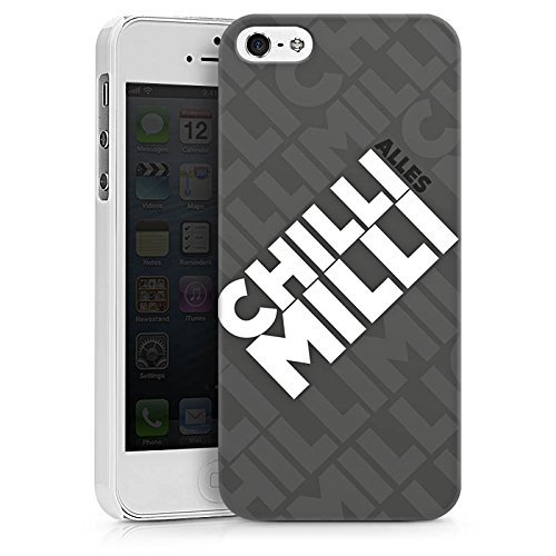 Apple iPhone X Silikon Hülle Case Schutzhülle LPmitKev Fanartikel Merchandise Alles Chilli Milli Grau Hard Case weiß