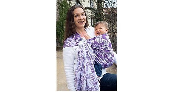 Porte-bébé BULLINE JACQUARD Labyrinthe VIOLET BLANC NEOBULLE  Amazon.fr   Bébés   Puériculture 41f26d7c346