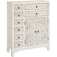 ch design mobles nacher axidecor mueble auxiliar comoda oriente blanco rozado 2 puertas 8