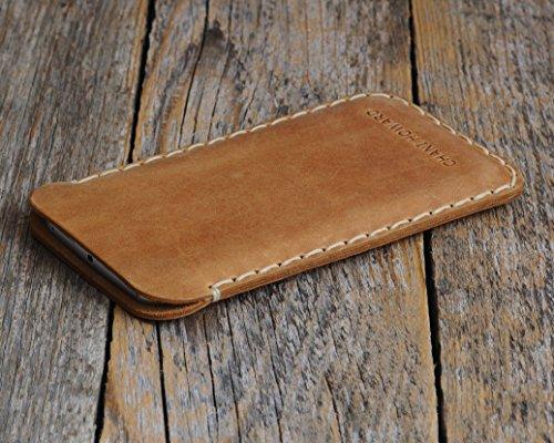 Housse en cuir pour OnePlus 7 Pro, 7, 6T, 6, 5T, 5, 3T, 3, 2, One, X, Plus étui personnalisé pochette case coque cover monogramme inscrivez ... 9