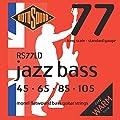 Rotosound Monel Standard Gauge Flatwound Bass Strings (45 65 85 105)