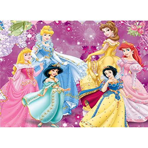 Jigsaw Puzzles WYF Puzzle, Disney Princess Sofia Die ersten 300.500.1000 Teile Puzzle Bunte IQ-Spiel Intelligentes Lernspielzeug für Kinder Erwachsene P531 (Color : E, Size : 1000pc) - Teile 300 Puzzle York New