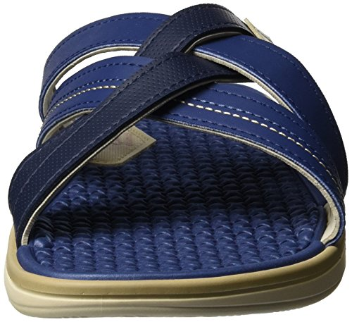 Cartago Cartago Valencia Ii Slide Ad, Sandales  Bout ouvert homme Mehrfarbig (beige/blue)