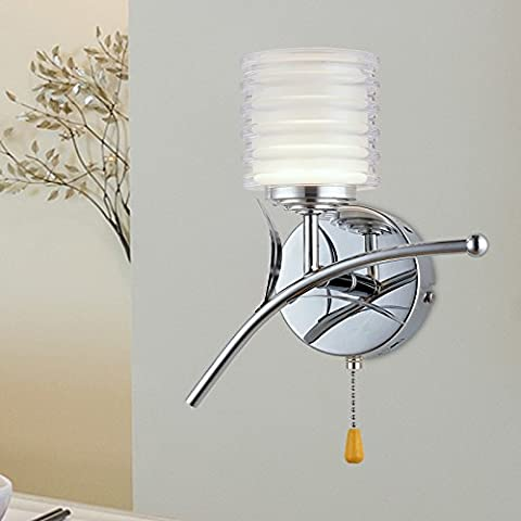 Lampada da parete a LED lampada al posto letto camera