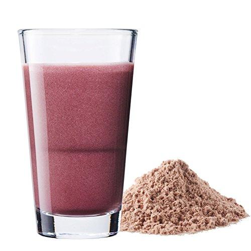 Vegan Protein (Blaubeere) - Protein aus Reis, Hanfsamen, Lupinen, Erbsen, Chia-Samen, Leinsamen, Amaranth, Sonnenblumen- und Kürbiskernen - 600 Gramm Pulver mit natürlichem Blaubeeren Geschmack - 3