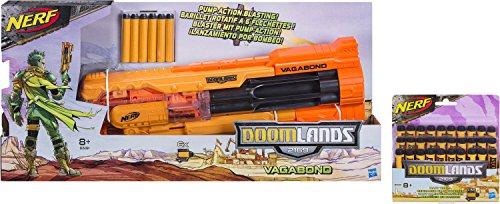 Nerf Doomlands 2169 Vagabond Hotshot Kit: 1 Vagabond + 30 Doomlands Darts