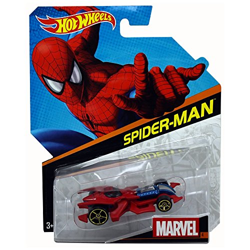 Hot Wheels Marvel Cars: Spiderman