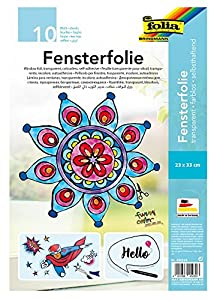 Folia 450230 Arte de Papel 10hojas - Papel Decorativo (Arte de Papel, 10 Hojas, Niño/niña, 230 mm, 330 mm)