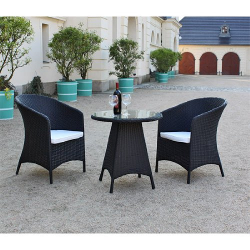 polyrattan sitzgruppe firstsmall kleine rattan balkonm bel. Black Bedroom Furniture Sets. Home Design Ideas