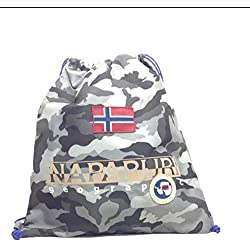 Gym backpack | Napapijri North Cape | 5ANN3R22-Camo Grey